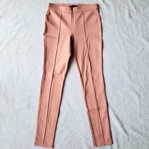 Romeo & Juliet Couture Pink Beige Legging Pants